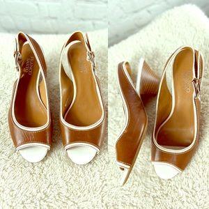 2/$40 Franco Sarto Low Heels Sz 8